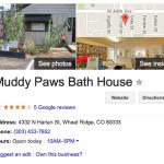 Muddy Paws Listing